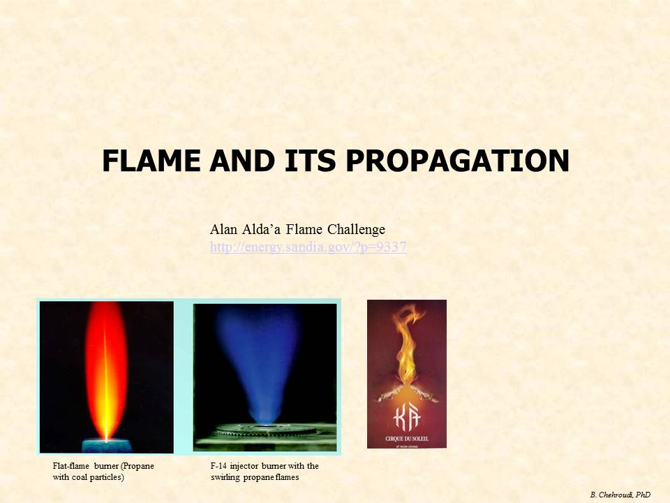 Flame and its Propagation